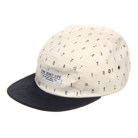 The Quiet Life x Sam Smyth - Cryptic 5-Panel Cap