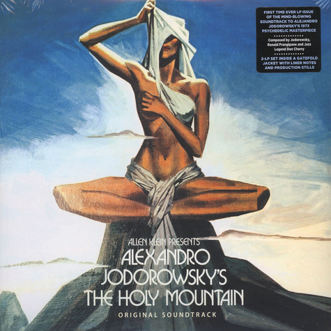 Alejandro Jodorowsky - OST The Holy Mountain Black Vinyl Edition