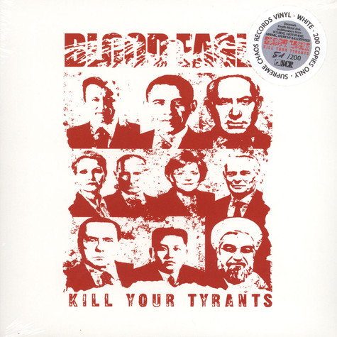 Blood Eagle - Kill Your Tyrants White Vinyl Edition