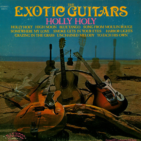 Exotic Guitars, The - Holly Holy