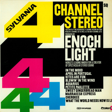 Enoch Light - 4 Channel Stereo