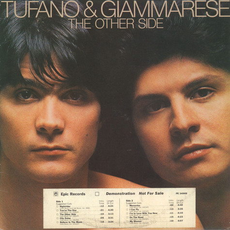 Dennis Tufano & Carl Giammarese - The Other Side
