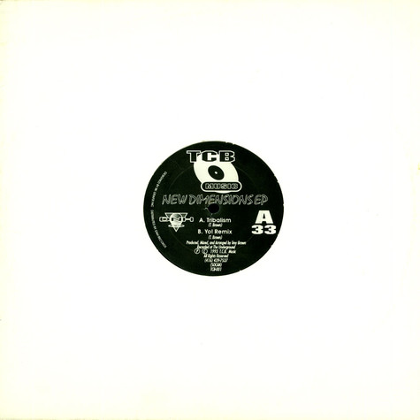 Troy Brown - New Dimensions EP