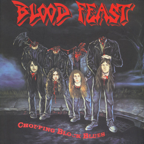Blood Feast - Chopping Block Blues Clear Red Vinyl Edition