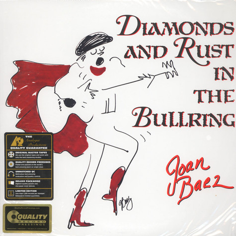 Joan Baez - Diamonds And Rust In The Bullring 200g Vinyl Edition