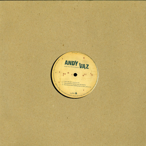 Andy Vaz - Moon Talk Protection EP