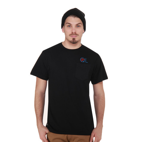 The Quiet Life - Mountain Embroidery Pocket T-Shirt