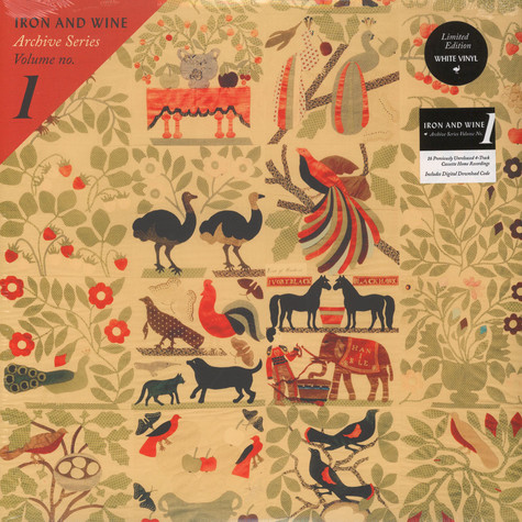 Iron And Wine - Archive Series Volume No. 1 White Vinyl Edition