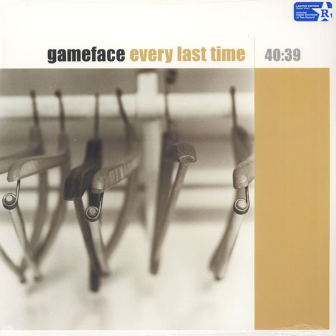 Gameface - Every Last Time Translucent Gold Vinyl Edition