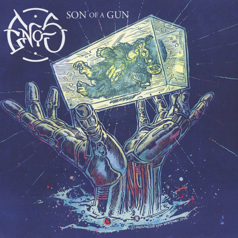 Enos / Mangoo - Son Of A Gun / The Grey Belly Orange Vinyl Edition
