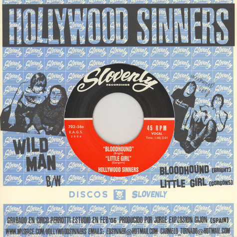 Hollywood Sinners - Wild man EP