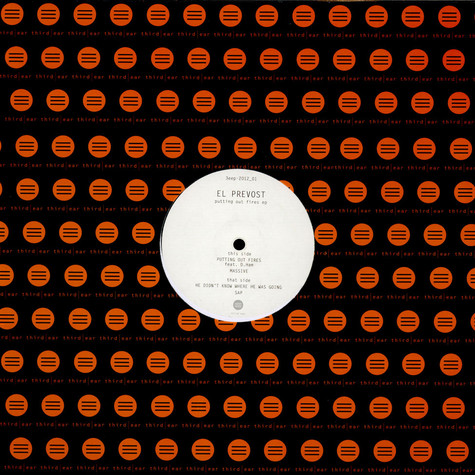 El Prevost - Putting Out Fires EP