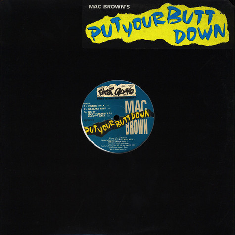 Mac Brown - Put Your Butt Down