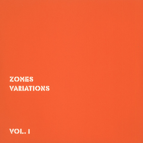 Zomes - Variations Volume 1