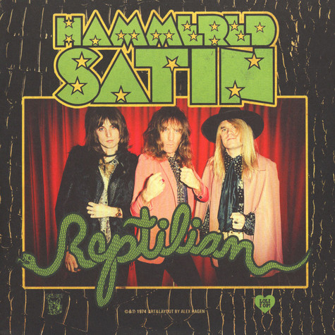 Hammered Satin - Reptilian