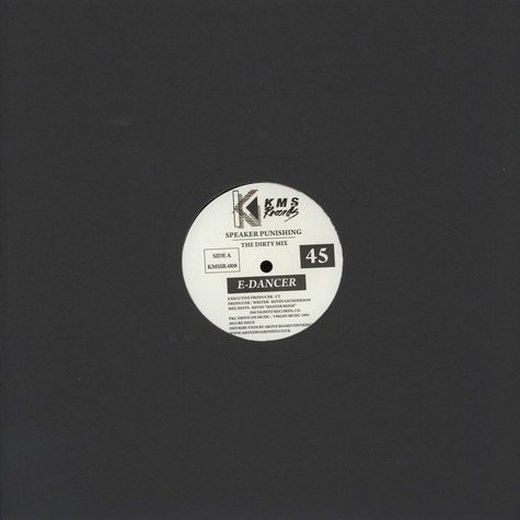 E-Dancer (Kevin Saunderson) - Speaker Punishing