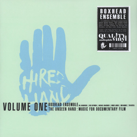 Boxhead Ensemble - The Unseen Hand: Music For Documentary Film