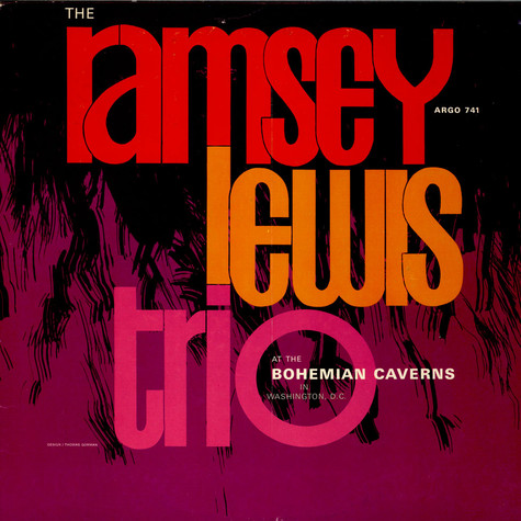 Ramsey Lewis Trio, The - At The Bohemian Caverns