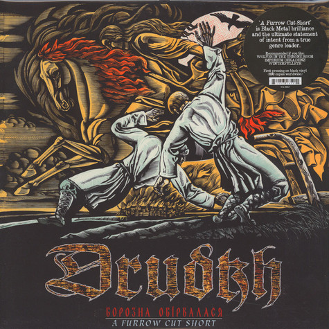 Drudkh - A Furrow Cut Short Black Vinyl Edition