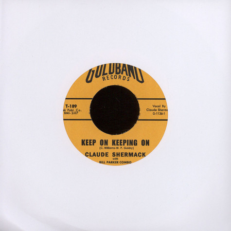 Claude Shermack - Keep On Keeping On