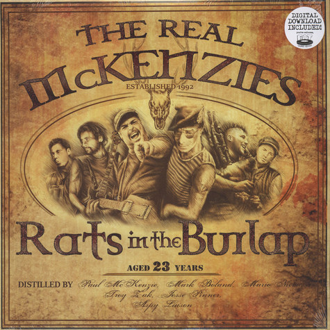 Real Mckenzies, The - Rats In The Burlap