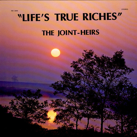 Joint-Heirs , The - Life`s True Riches