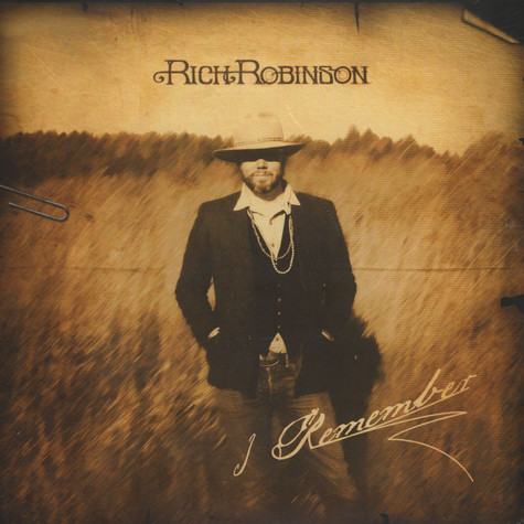 Rich Robinson of The Black Crowes - I Remember