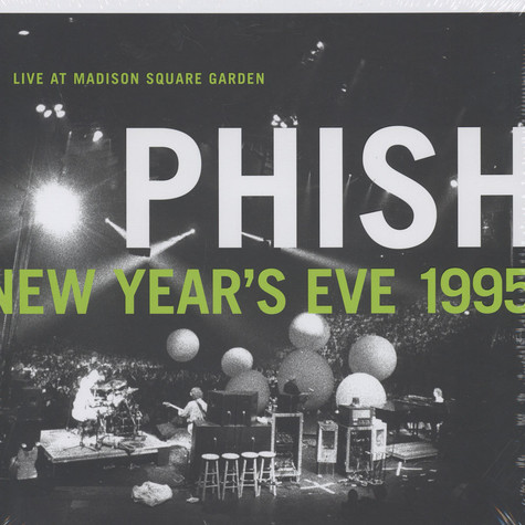 Phish - New Year's Eve 1995, Live at Madison Square Garden