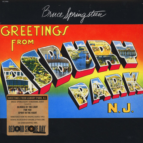Bruce Springsteen - Greetings From Ashbury Park, N.J.