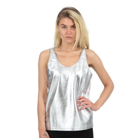 A Question Of - Silver Tank Top