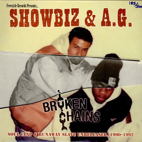 Showbiz & A.G. - Broken Chains: Soul Clap & Runaway Slave Unreleased, 1990-1992
