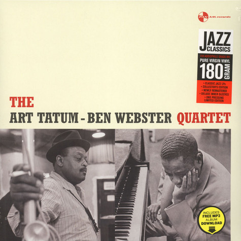 Art Tatum & Ben Webster Quartet - Art Tatum & Ben Webster Quartet