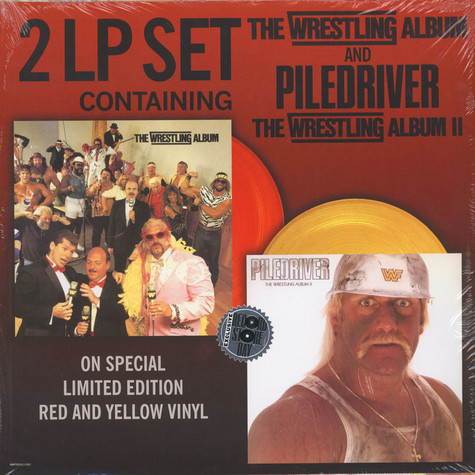 V.A. - The Wrestling Album / Piledriver 30th Anniversary Edition