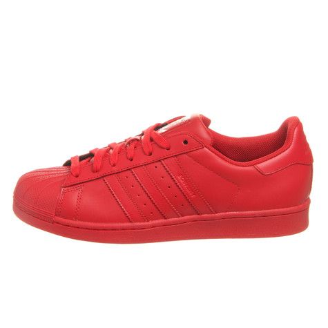 cd7d82e3e adidas   Pharrell Williams - Superstar Supercolor (Red   Red   Red ...