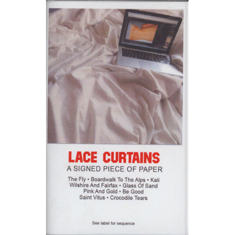 Lace Curtains - A Signed Piece Of Paper