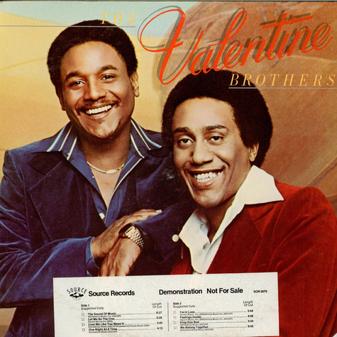 Valentine Brothers, The - The Valentine Brothers