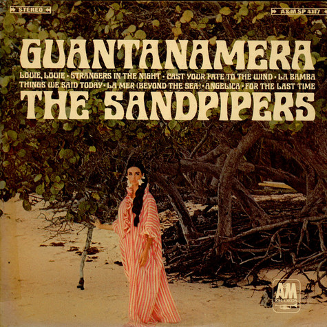 Sandpipers The Guantanamera Vinyl Lp 1966 Us