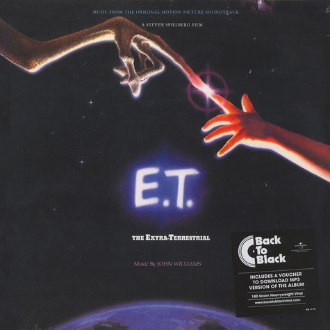 John Williams - OST E.T. The Extra-Terrestrial Back To Black Edition