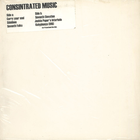Consintrated Music - Consintrated Music
