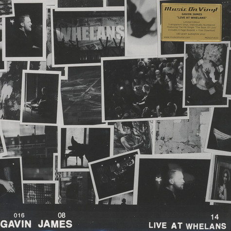 Gavin James - Live At Whelans