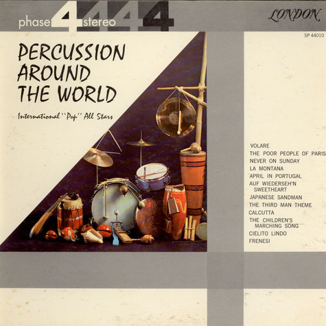 "International ""Pop"" All Stars - Percussion Around The World"