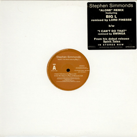 Stephen Simmonds - Alone