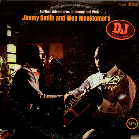 Jimmy Smith & Wes Montgomery - Further Adventures Of Jimmy Smith & Wes Montgomery