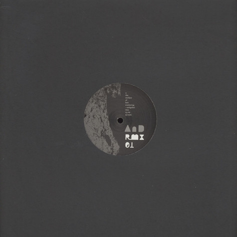 AnD - AnD RMX 01 Zeitgeber / Sleeparchive / O/H Remixes