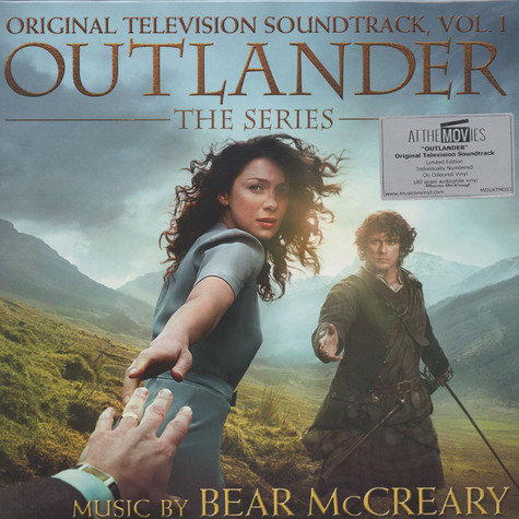 Bear McCreary - OST Outlander (TV Series) Clear White Vinyl Edition