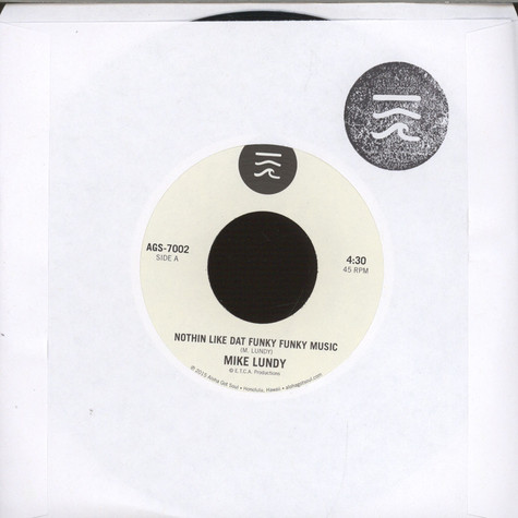 Mike Lundy - Nothin Like Dat Funky Funky Music