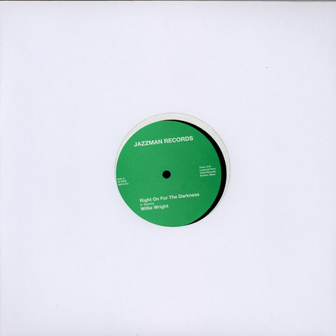 Willie Wright / DJ. Tibb feat Brothermartin & Willie Wright - Right On For Darkness / Right On!