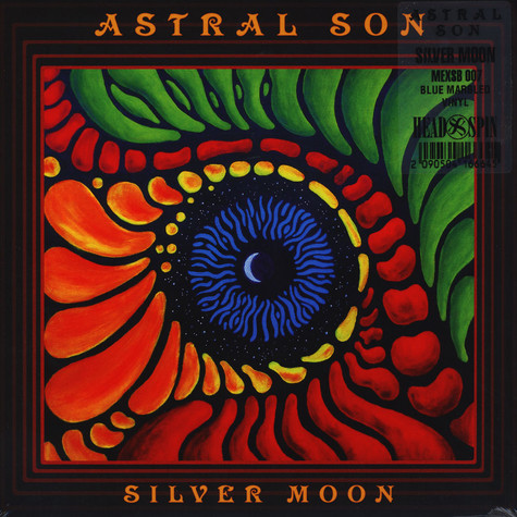 Astral Son - Silver Moon Blue / White / Black Vinyl Edition