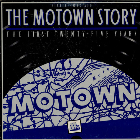 V.A. - The Motown Story:  The First Twenty-Five Years