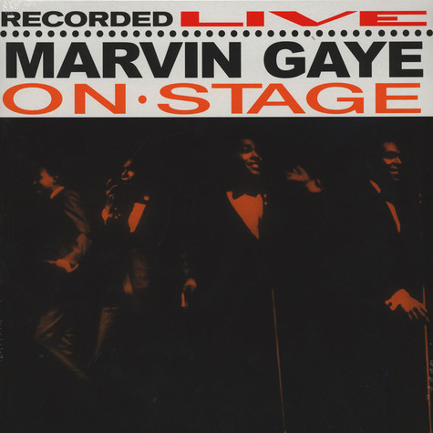 Marvin Gaye - On Stage